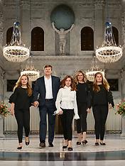 Official portraits of The Dutch Royal - 25 Apr 2018