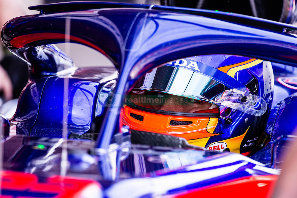 February 26, 2019 - Barcelona, Barcelona, Spain - Alexander Albon from Thailand 23 Scuderia Toro Rosso Honda portrait during the Formula 1 2019 Pre-Season Tests at Circuit de Barcelona - Catalunya in Montmelo, Spain on February 26. (Credit Image: © AFP7 via ZUMA Wire)