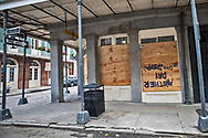 French Quarter in New Orleans on March 27, 2020. New Orleans , major city, USA