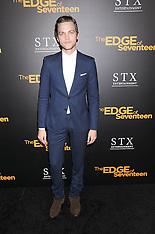 Los Angeles The Edge Of Seventeen Premiere - 09 Nov 2016