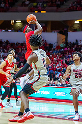 NORMAL, IL - February 26: Darrell Brown during a college basketball game between the ISU Redbirds and the Bradley Braves on February 26 2020 at Redbird Arena in Normal, IL. (Photo by Alan Look)