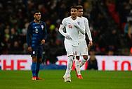 Goal, Jesse Lingered of England scores, England 1-0 USA during the International Friendly match between England and USA at Wembley Stadium, London, England on 15 November 2018.