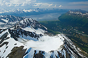 Alaska. Girdwood. Nestled in the Chugach National Forest, Girdwood is home to seven hanging glaciers and the Alyeska Ski Resort.