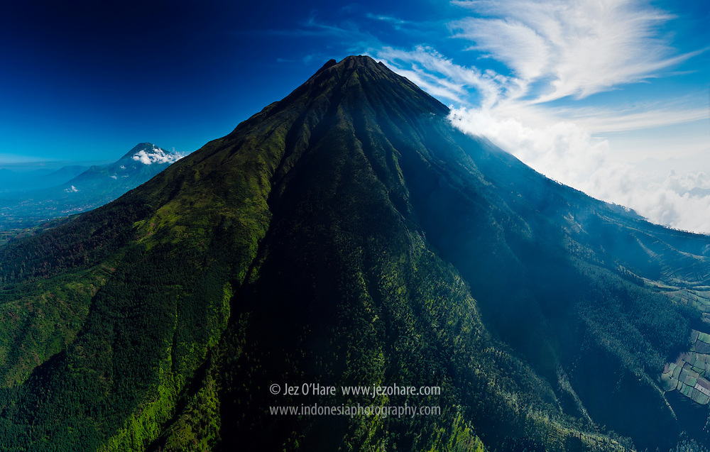 Mount Sumbing, Central Java, Indonesia