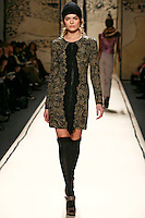 Masha wearing the Tracy Reese Fall 2009 Collection.