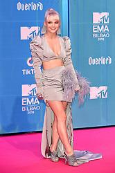 November 4, 2018 - Bilbao, Bizkaia, Spanien - Margaret bei der Verleihung der MTV European Music Awards 2018 in der Bizkaia Arena. Bilbao, 04.11.2018 (Credit Image: © Future-Image via ZUMA Press)