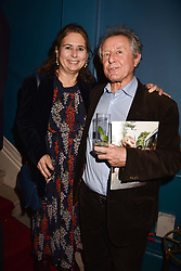 Alexandra Shulman and David Jenkins at Mark Shand's Adventures and His Cabinet Of Curiosities VIP private view, 32 Portland Place, London, England. 20 February 2018.