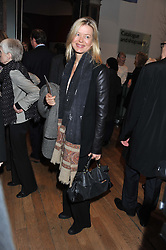 LADY HELEN TAYLOR at a private view to celebrate the opening of the Royal Academy's exhibition of work by David Hockney held at The Royal Academy, Burlington House, Piccadilly, London on 17th January 2012.