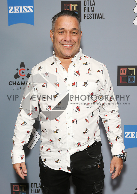 """Tommy Martino at DTLA Film Festival """"INSIDE GAME"""" Los Angeles Premiere held at Regal LA Live on October 24, 2019 in Los Angeles, California, United States (Photo by © Michael Tran/VipEventPhotography.com"""