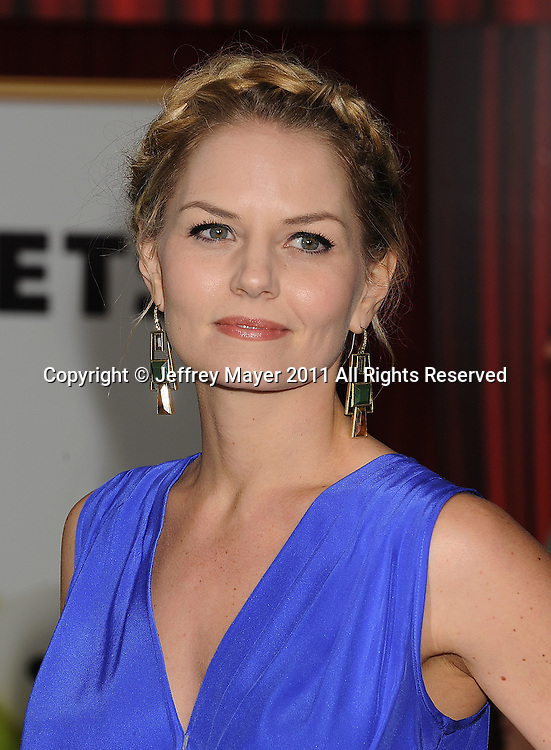 """HOLLYWOOD, {CA} - NOVEMBER 12: Jennifer Morrison attends """"The Muppet"""" Los Angeles Premiere at the El Capitan Theatre on November 12, 2011 in Hollywood, California."""