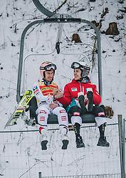 16.02.2020, Kulm, Bad Mitterndorf, AUT, FIS Ski Flug Weltcup, Kulm, Herren, im Bild 1. Platz Stefan Kraft (AUT) // Winner Stefan Kraft of Austria during men's FIS Ski Flying World Cup at the Kulm in Bad Mitterndorf, Austria on 2020/02/16. EXPA Pictures © 2020, PhotoCredit: EXPA/ Dominik Angerer