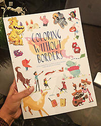 """Alicia Keys releases a photo on Twitter with the following caption: """"""""A friend sent me this beautiful book that's meant to help children separated from their families at the border.<br /> <br /> I'm always looking for meaningful gifts and this gift is a perfect way to support! ✨💜✨https://t.co/pkJQqSxmwa"""""""". Photo Credit: Twitter *** No USA Distribution *** For Editorial Use Only *** Not to be Published in Books or Photo Books ***  Please note: Fees charged by the agency are for the agency's services only, and do not, nor are they intended to, convey to the user any ownership of Copyright or License in the material. The agency does not claim any ownership including but not limited to Copyright or License in the attached material. By publishing this material you expressly agree to indemnify and to hold the agency and its directors, shareholders and employees harmless from any loss, claims, damages, demands, expenses (including legal fees), or any causes of action or allegation against the agency arising out of or connected in any way with publication of the material."""
