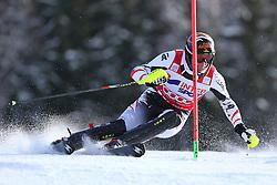 06.01.2014, Stelvio, Bormio, ITA, FIS Weltcup Ski Alpin, Bormio, Slalom, Herren, im Bild Mario Matt // Mario Matt  in action during mens Slalom of the Bormio FIS Ski World Cup at the Stelvio in Bormio, Italy on 2014/01/06. EXPA Pictures © 2014, PhotoCredit: EXPA/ Sammy Minkoff<br /> <br /> *****ATTENTION - OUT of GER*****