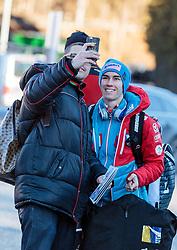 31.12.2016, Olympiaschanze, Garmisch Partenkirchen, GER, FIS Weltcup Ski Sprung, Vierschanzentournee, Garmisch Partenkirchen, TRaining, im Bild Stefan Kraft (AUT) // Stefan Kraft of Austria before his Practice Jump for the Four Hills Tournament of FIS Ski Jumping World Cup at the Olympiaschanze in Garmisch Partenkirchen, Germany on 2016/12/31. EXPA Pictures © 2016, PhotoCredit: EXPA/ JFK