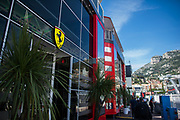 May 23-27, 2018: Monaco Grand Prix. Ferrari hospitality