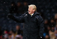 Football - World Cup Qualifier - Scotland v Wales <br /> <br /> <br /> Gordon Strachan, manager of Scotland in action during the Group A 2014 World Cup Brazil  Qualifier between Scotland and Wales at Hampden Stadium, Glasgow .<br /> 22nd March 2013<br /> <br /> Colorsport