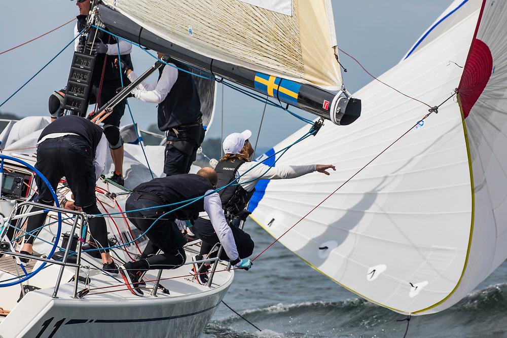 11Royal Swedish Yacht ClubRegina 2.0WhiteJacob WallenbergGutta Johnnsson<br /> <br /> 2017 ROLEX NYYC INVITATIONAL CUP