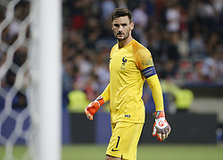 June 1, 2018 - Nice, Italy - Hugo Lloris during the friendly match between France and Italy, in Nice, on June 1, 2018  (Credit Image: © Loris Roselli/NurPhoto via ZUMA Press)