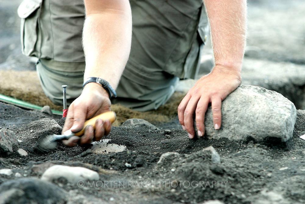 Archaeology at Kaupang, Larvik, Norway