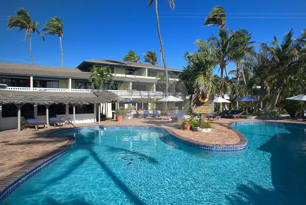 Big Game Resort in Alice Town on the tiny Caribbean island of Bimini, Bahamas.