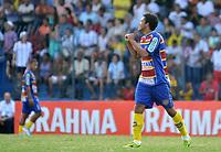 20120202: Rio de Janeiro, BRAZIL - Player Thiago Medeiros  during match between Madureira vs Botafogo for Campeonato Carioca held at Conselheiro Galvao, RJ, Brasil <br /> PHOTO: CITYFILES
