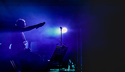 23.06.2017, Baumbar Areal, Kaprun, AUT, Austropop Festival, im Bild EAV (Erste Allgemeine Verunsicherung Sänger Klaus Eberhartinger // EAV (Erste Allgemeine Verunsicherung Singer Klaus Eberhartinger during the Austropop Festival in Kaprun, Austria on 2017/06/23. EXPA Pictures © 2015, PhotoCredit: EXPA/ JFK
