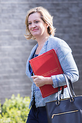 Downing Street, London, April 12th 2016. Energy Secretary Amber Rudd arrives at the weekly cabinet meeting. <br /> ©Paul Davey<br /> FOR LICENCING CONTACT: Paul Davey +44 (0) 7966 016 296 paul@pauldaveycreative.co.uk