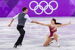20-02-2018 KOR: Olympic Games day 11, PyeongChang<br /> Figure Skating Ice Dance free dance / Ekaterina Bobrova and Dmitri Soloviev of Olympic Athlete from Russia