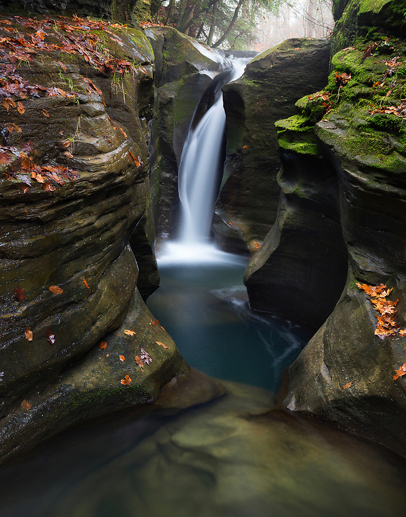 """Corkscrew Falls - Hocking Hills, Ohio<br /> <br /> 12"""" x 18""""<br /> <br /> See pricing page for details.<br /> <br /> Please contact me for custom sizes and print options including canvas wraps, metal prints, assorted paper options, etc. <br /> <br /> I enjoy working with buyers to help them with all their home and commercial wall art needs. Please contact me for custom sizes and print options including canvas wraps, metal prints, assorted paper options, etc. <br /> <br /> I enjoy working with buyers to help them with all their home and commercial wall art needs."""