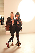 CAISA EDERYD; HELEN O'NEILL, Fired Up, Exhibition of work by Joe Clark, Lauren Cotton, Rory McCartney, David Jones and Farid Rasulov. Gazelli Art House. Wakefield st. London. WC1. 10 February 2011. -DO NOT ARCHIVE-© Copyright Photograph by Dafydd Jones. 248 Clapham Rd. London SW9 0PZ. Tel 0207 820 0771. www.dafjones.com.