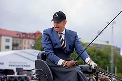 Chardon IJsbrand, NED, Baldun, Eddy, Senator, Winston E, Zion<br /> FEI European Driving Championships - Goteborg 2017 <br /> © Hippo Foto - Dirk Caremans<br /> 25/08/2017,