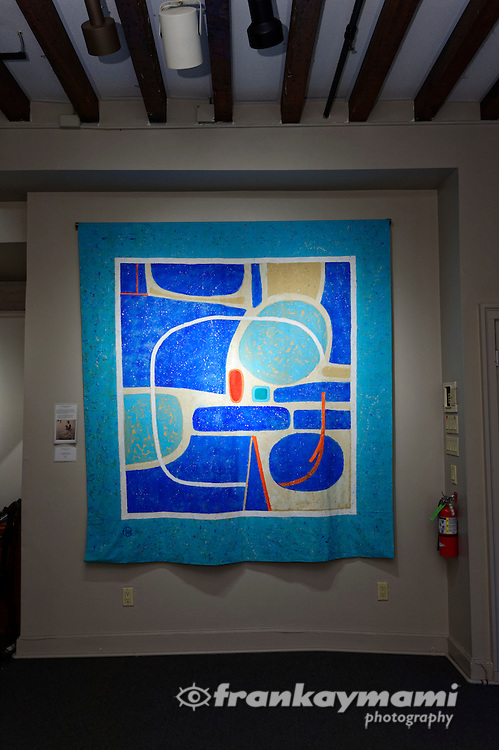 Artist reception with Françoise Gilot at the Vincent Mann Gallery on February 27, 2016.