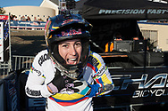 #6 (PAJON Mariana) COL wins the 2013 UCI BMX Supercross World Cup in Chula Vista