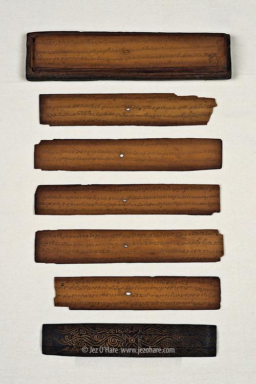 Sanghyang Siksakandang Karesian manuscript, Kabuyutan Pamalayan, Ciburuy, Bayongbong, Garut, West Java, Indonesia.
