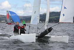 Peelport Clydeport, Largs Regatta Week 2014 Largs Sailing Club based at  Largs Yacht Haven with support from the Scottish Sailing Institute & Cumbrae.<br /> <br /> Catamaran, NARCA, 44, Doug Collinson, James Sawyer