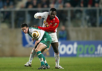 Fotball<br /> Frankrike 2004/05<br /> Ligacup<br /> Sedan v Monaco<br /> 9. november 2004<br /> Foto: Digitalsport<br /> NORWAY ONLY<br /> MORGAN AMALFITANO (SED) / SHABANI NONDA (MON)