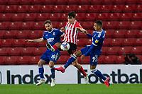 Football - 2020 / 2021 Sky Bet League One - Sunderland vs Ipswich Town - Stadium of Light<br /> <br /> Luke O'Nien of Sunderland vies with Alan Judge of Ipswich Town and Kayden Jackson of Ipswich Town<br /> <br /> <br /> COLORSPORT/BRUCE WHITE