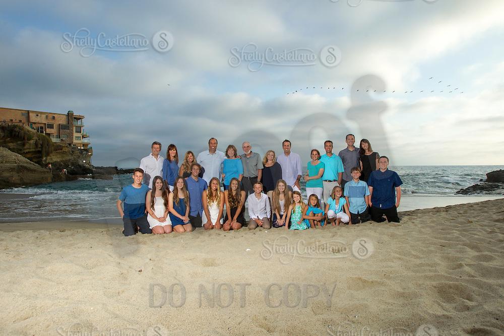 25 May 2014:  Schuck Family photos in Laguna Beach, CA.