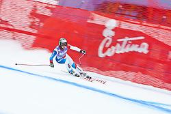19.01.2011, Tofana, Cortina d Ampezzo, ITA, FIS World Cup Ski Alpin, Lady, Cortina, Abfahrt 1. Training, im Bild Nadja Kamer (SUI, #17) // Nadja Kamer (SUI) during FIS Ski Worldcup ladies downhill first training at pista Tofana in Cortina d Ampezzo, Italy on 19/1/2011. EXPA Pictures © 2011, PhotoCredit: EXPA/ J. Groder