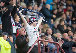Dunfermline 1 v 2 Falkirk, Scottish Championship game played 22/4/2017 at Dunfermline's home ground, East End Park.