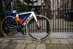 Rally Cycling at the 2020 Omloop Het Nieuwsblad - Elite Women, a 122.9 km road race from Gent to Ninove, Belgium on February 29, 2020. Photo by Sean Robinson/velofocus.com