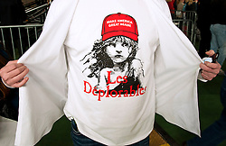 Oct.18, 2016 - Colorado Springs, Colorado, U.S. -  Donald Trump supporters await the start of a rally at the Norris Penrose Event Center.(Credit Image: © Brian Cahn via ZUMA Wire)
