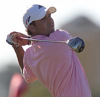 Golf<br /> Foto: SBI/Digitalsport<br /> NORWAY ONLY<br /> <br /> 2005 Open Championship, St. Andrews.<br /> <br /> Saturday 16/07/2005<br /> Sergio Garcia drives the last