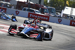 March 11, 2018 - St. Petersburg, Florida, United States of America - March 11, 2018 - St. Petersburg, Florida, USA: Matheus Leist (4) battles for position during the Firestone Grand Prix of St. Petersburg at Streets of St. Petersburg in St. Petersburg, Florida. (Credit Image: © Justin R. Noe Asp Inc/ASP via ZUMA Wire)