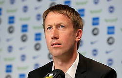 File photo dated 20-05-2019 of Brighton and Hove Albion's new manager Graham Potter.