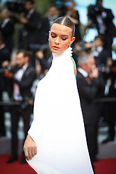 Josephine Skriver attends the screening of Oh Mercy! (Roubaix, une Lumiere) during the 72nd annual Cannes Film Festival on May 22, 2019 in Cannes, France. Photo by Shootpix/ABACAPRESS.COM