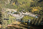 Autumn ski lift, Taos Ski Valley