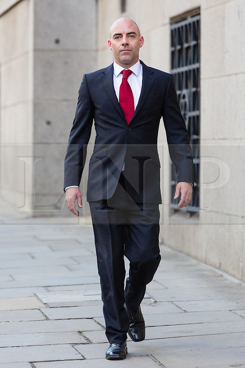 © Licensed to London News Pictures. 30/06/2014. London, UK. Dan Evans arrive at The Old Bailey in central London this morning, 29th June 2014.. Photo credit : Vickie Flores/LNP