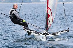 , Kiel - Kieler Woche 20. - 28.06.2015, Musto Skiff - NED 478 - Dijkstra, Paul