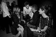 CARINE ROITFELD; CHRISTOPHER BAILEY; STEFANO TONCHI; GIOVANNA BATTAGLIA, Afterparty for Burberry  Spring/Summer 2010 Show. Horseferry House. Horseferry Rd. London sW1.  London Fashion Week.  22 September 2009.